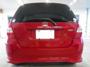 赤い車の査定